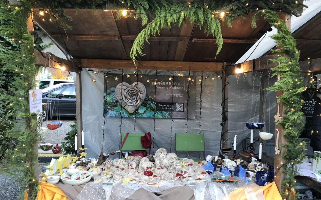 Weihnachtsmärt im Islerpark in Wohlen 2019